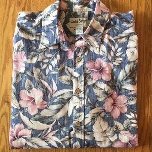 EUC Cooke Street Honolulu Aloha Shirt Extra Large